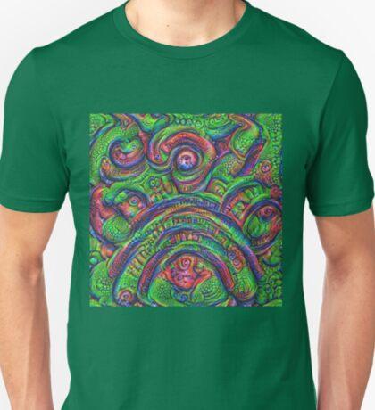 Green #DeepDream T-Shirt