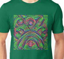 Green #DeepDream Unisex T-Shirt