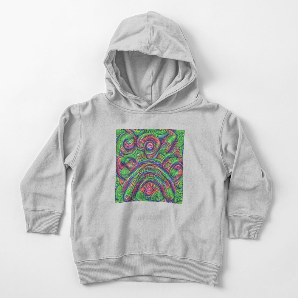 Green #DeepDream Toddler Pullover Hoodie