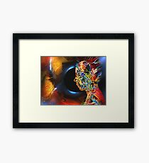 Open Mind, featured in Art Universe, Vavoom Framed Print