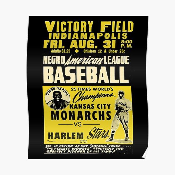 Baseball Kansas City Monarchs Vintage Classic Poster Victory Poster