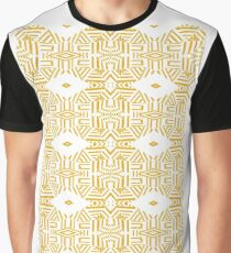 Mordern touch to Tribal Graphic T-Shirt