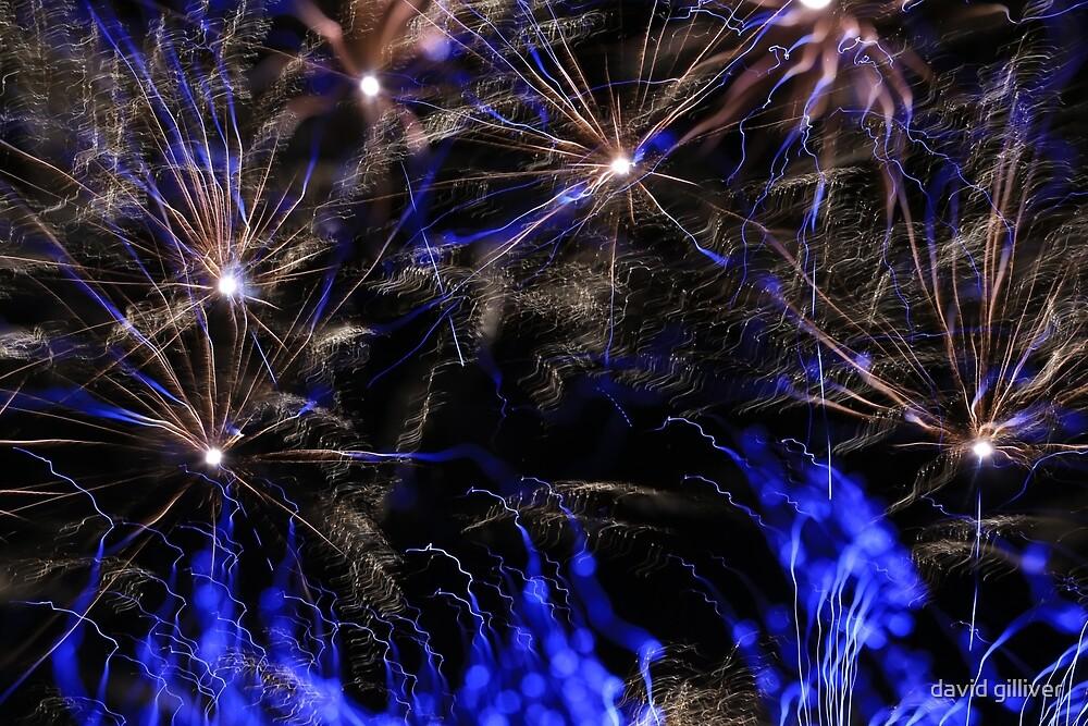fireworks 10/9/16 by david gilliver