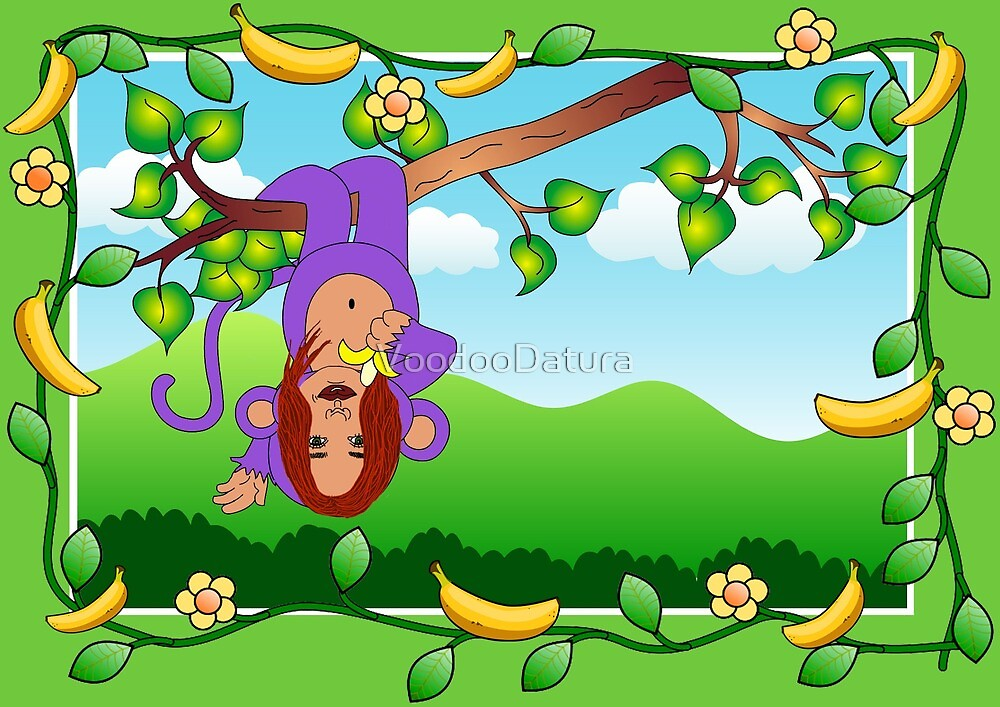 Tori Purple Monkey by VoodooDatura