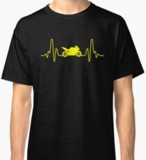 HeartBeat Motorbike Classic T-Shirt