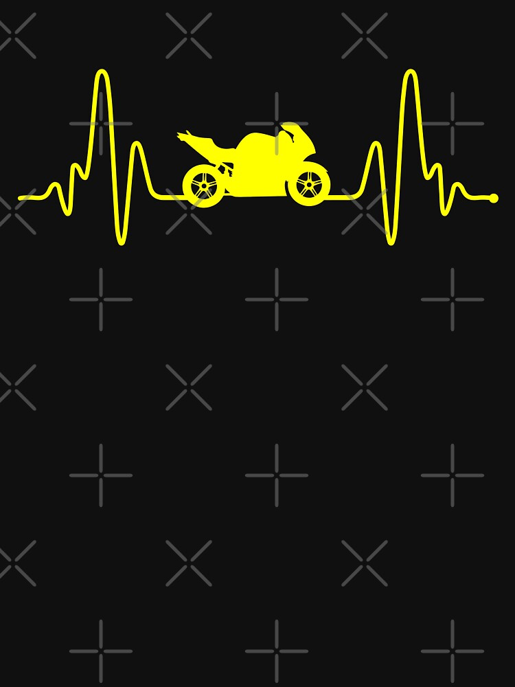 HeartBeat Motorbike by TheCoolTee