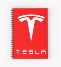 tesla Spiral Notebook