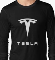Camiseta de manga larga Tesla