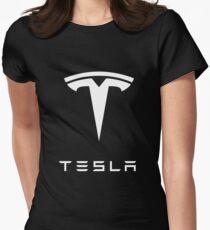 tesla Women's Fitted T-Shirt