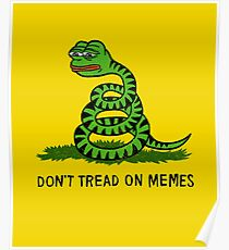 Don't Tread On Memes Poster