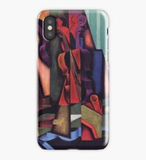 Juan Gris - Violin And Guitar 1913 iPhone Case/Skin