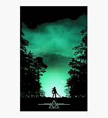 link the forest Photographic Print