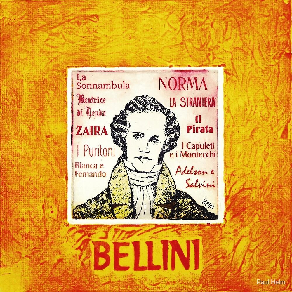 Vincenzo Bellini - Italian opera composer by Paul Helm