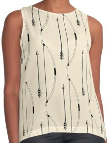 Bow & Arrow Contrast Tank