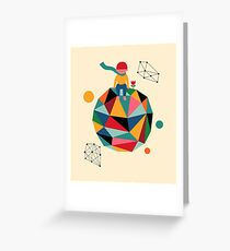 Lonely planet Greeting Card