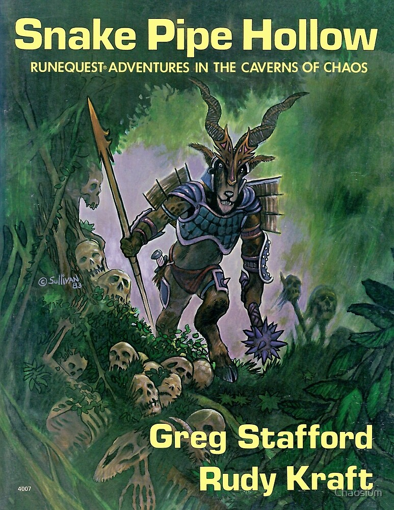 Snake Pipe Hollow - Broo cover by Chaosium