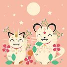 Lucky Cats  by CarlyWatts