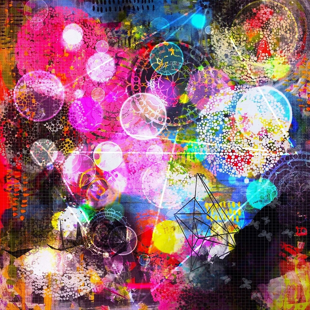 Mandala Universe by Cathrin Gressieker