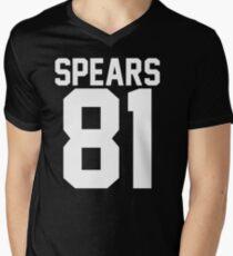 #BRITNEYSPEARS Men's V-Neck T-Shirt