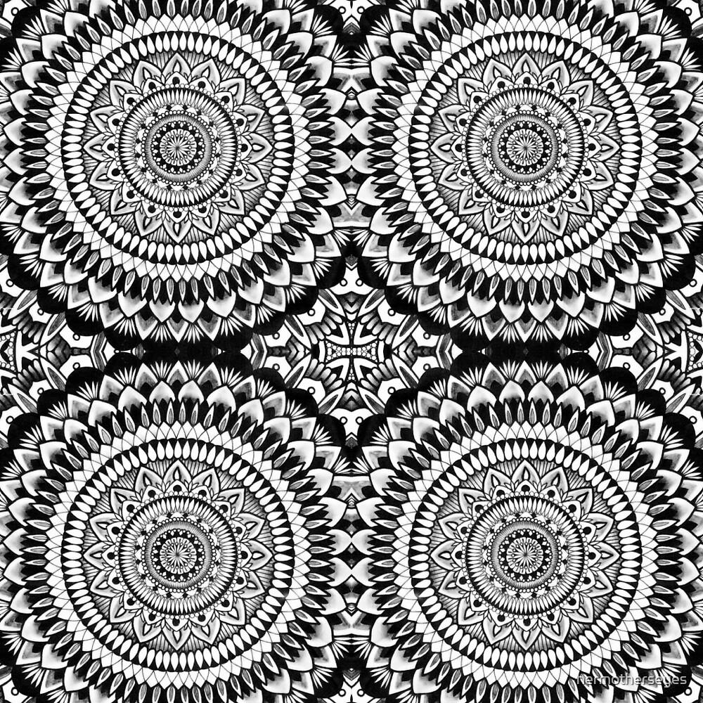 Mandala warp  by hermotherseyes