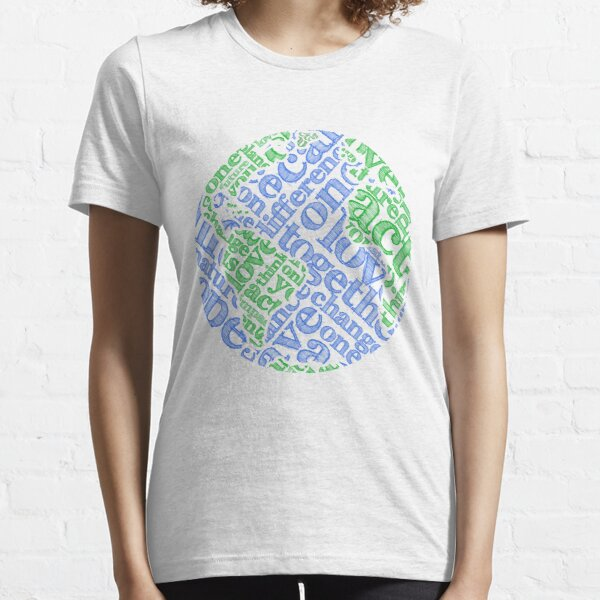 Earth Day: Love. Act. Change. Essential T-Shirt