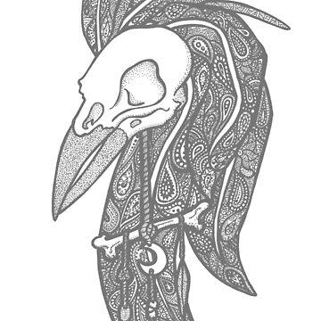Dark Moonglade's crow by Lindis