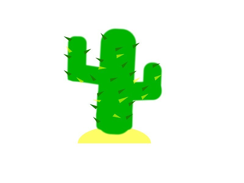 Cute Small Cactus Clip Art by CharliePics7