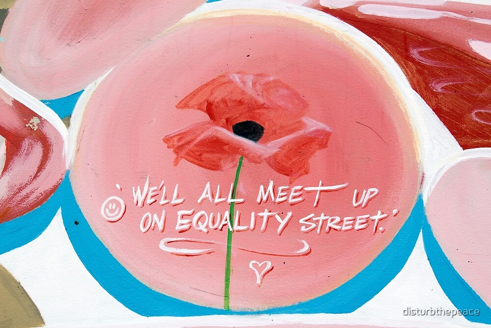 Equality Street, New Brighton NZ by disturbthepeace