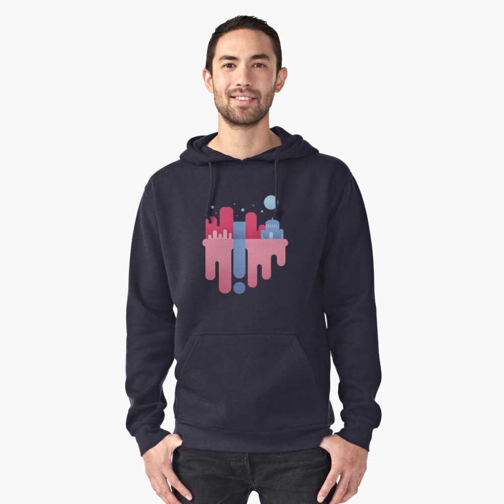 Floating Iland Pullover Hoodie Front