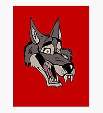 Big wolf Photographic Print