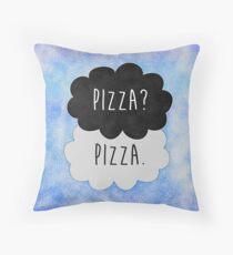 Pizza? Pizza. Throw Pillow