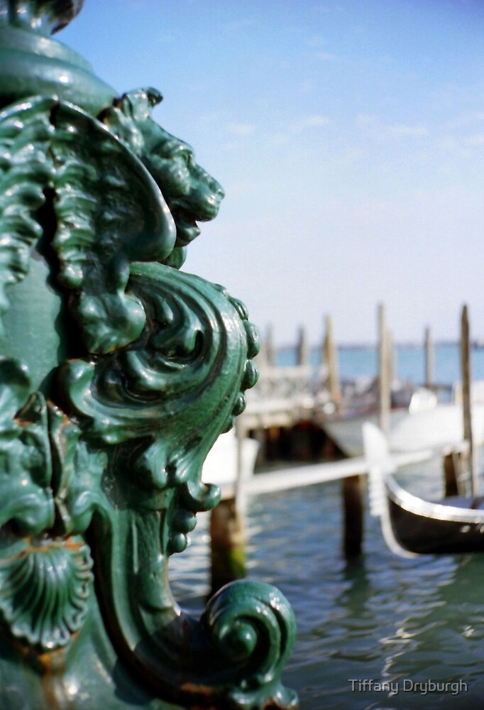 Lamp Post, Venice by Tiffany Dryburgh