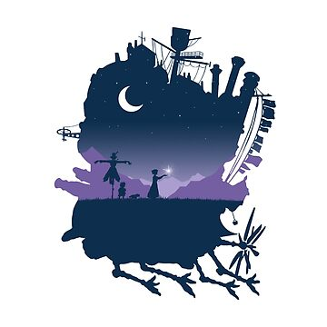 howls moving castle by mikekulima