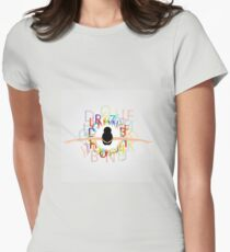 Dancer with alphabets on dress  T-Shirt