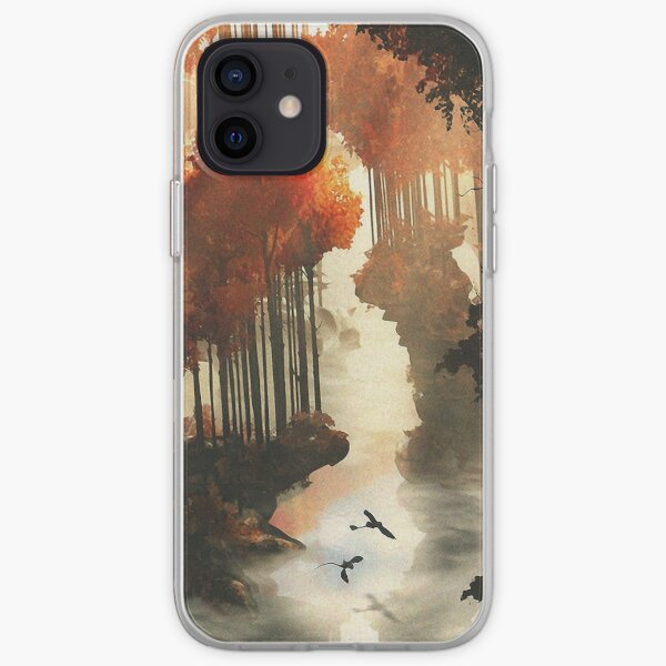 Autumn forests iPhone Soft Case