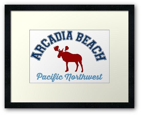 Arcadia Beach. by America Roadside.