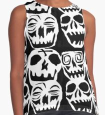 Desperately Seeking Skulls  Contrast Tank