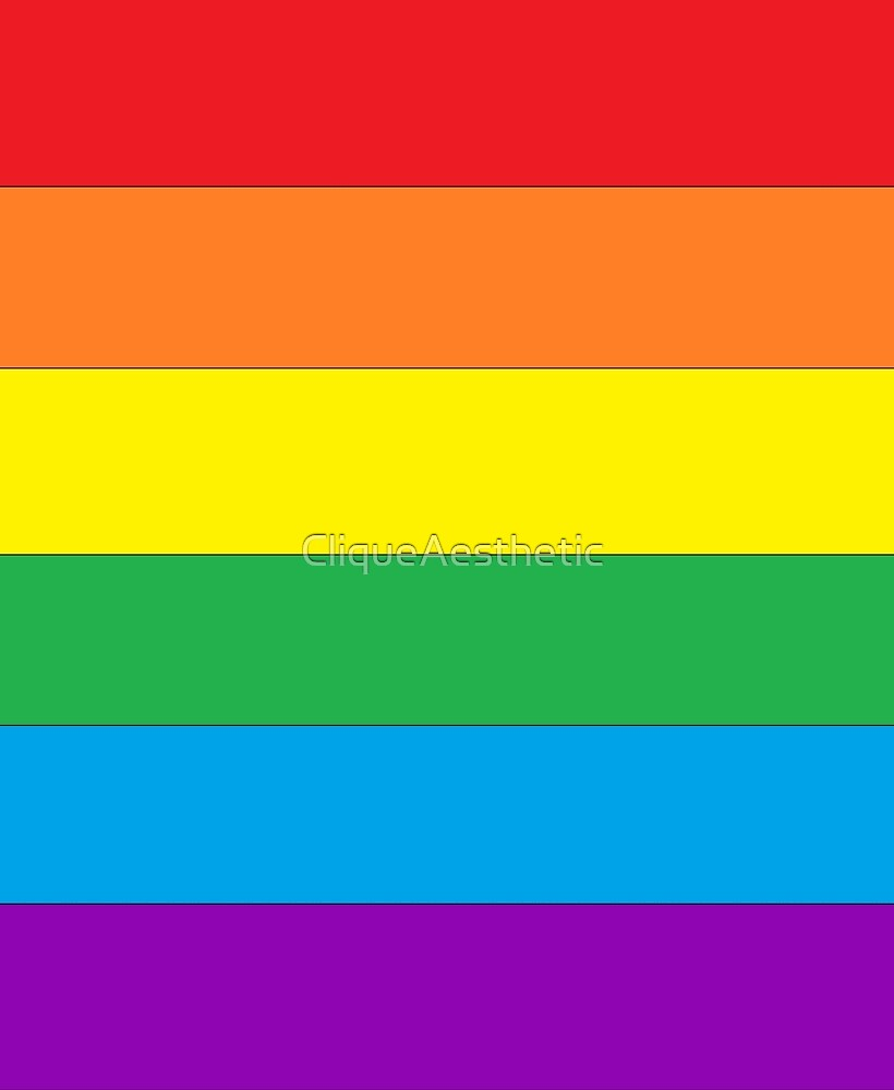 LGBT Pride Flag by CliqueAesthetic