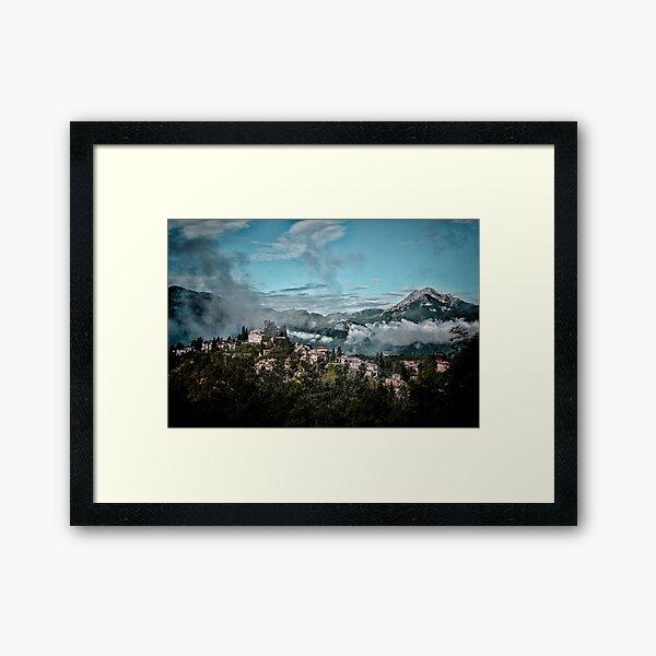 Barga Italy Framed Art Print