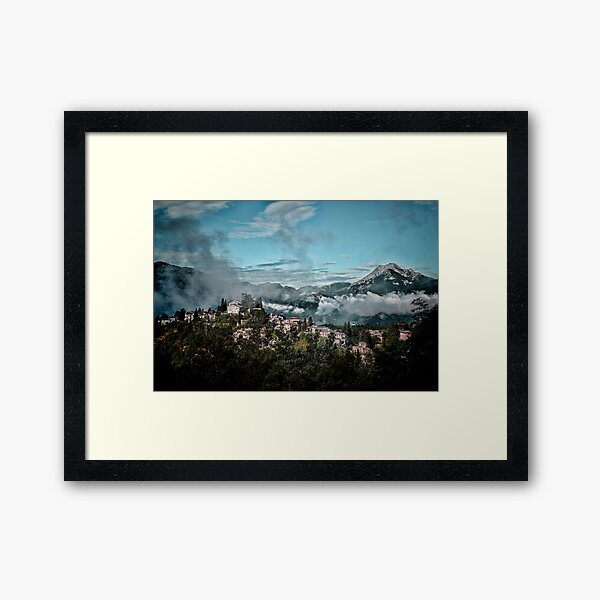 Barga Italy Framed Art Print