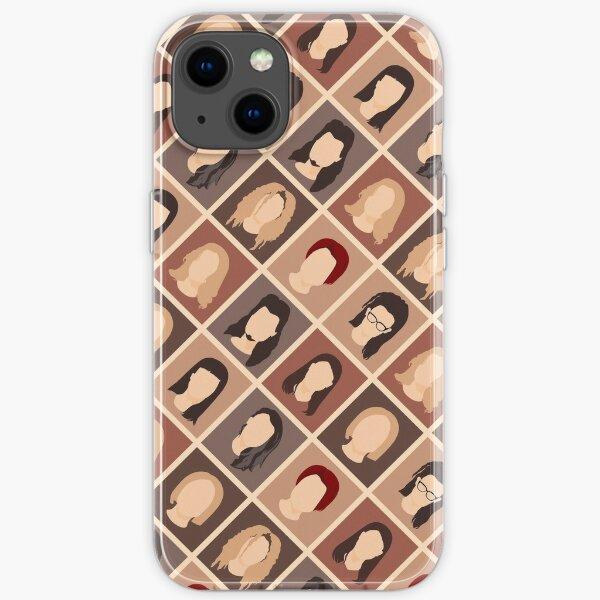 Clone Pattern iPhone Soft Case