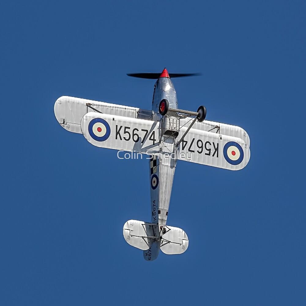 Hawker Fury I K5674 G-CBZP by Colin Smedley