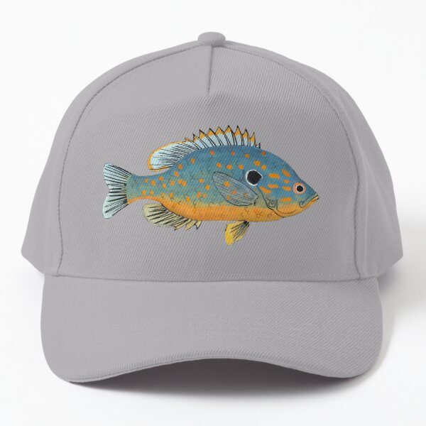Orange Spotted Sunfish Baseball Cap