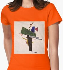 Kazimir Malevich - Untitled  Womens Fitted T-Shirt