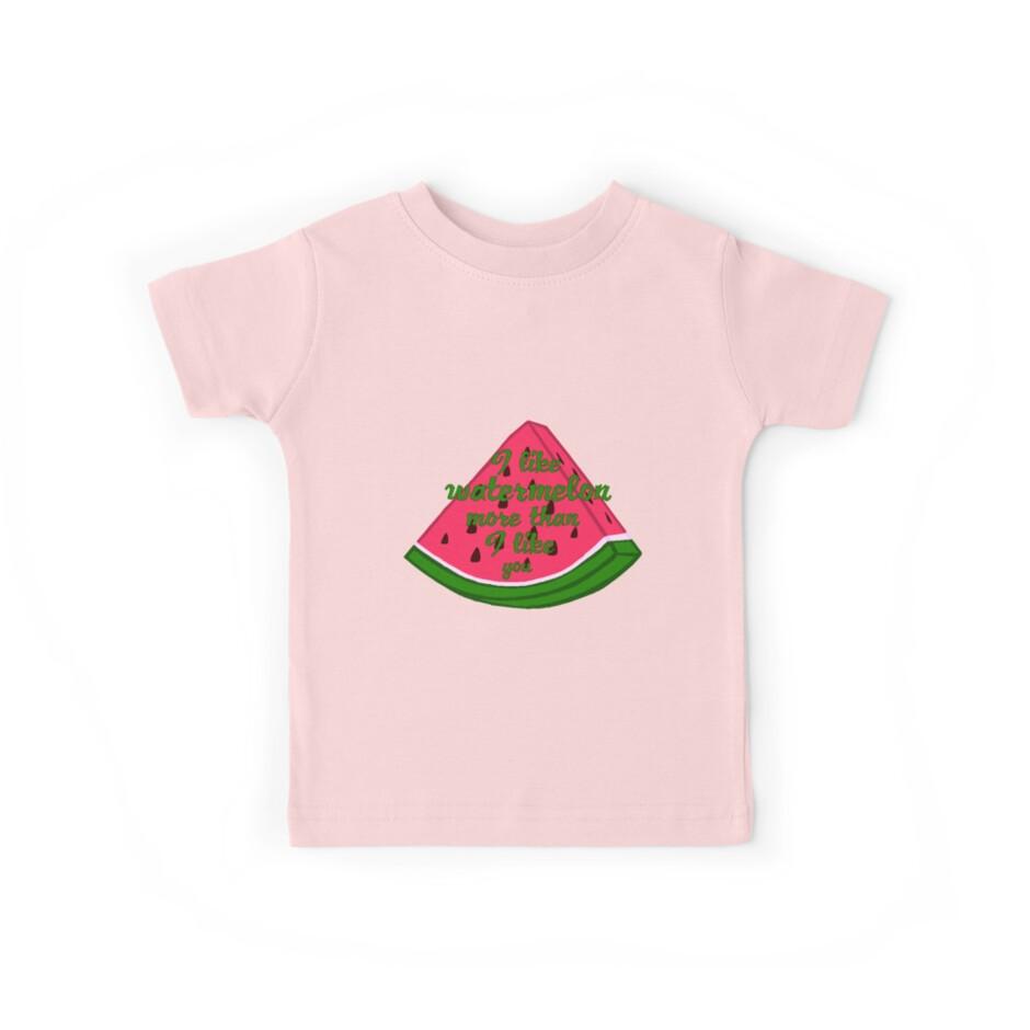 I like watermelon more than I like you by LittleRedChucks