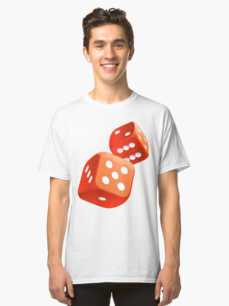 red dice Classic T-Shirt Front