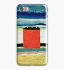 Kazimir Malevich - Red House  iPhone Case/Skin