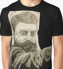 The Man Behind the Mask Graphic T-Shirt