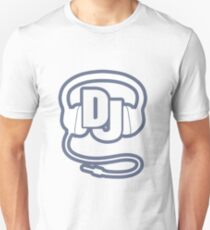 DJ head set simple graphic T-Shirt