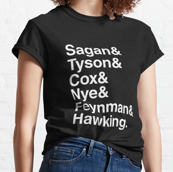 Scientists who have popularised science Classic T-Shirt